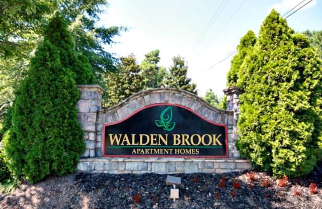 Walden Brook Apartments Sign